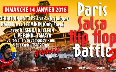 Paris Salsa Hip Hop Battle II 14/01/2018