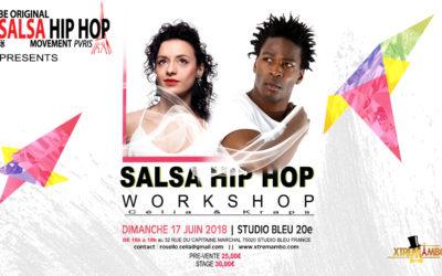 Stage Salsa Hip Hop avec Célia et Kraps